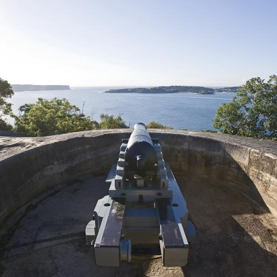 Headland Park Tunnels and Gunners Tour