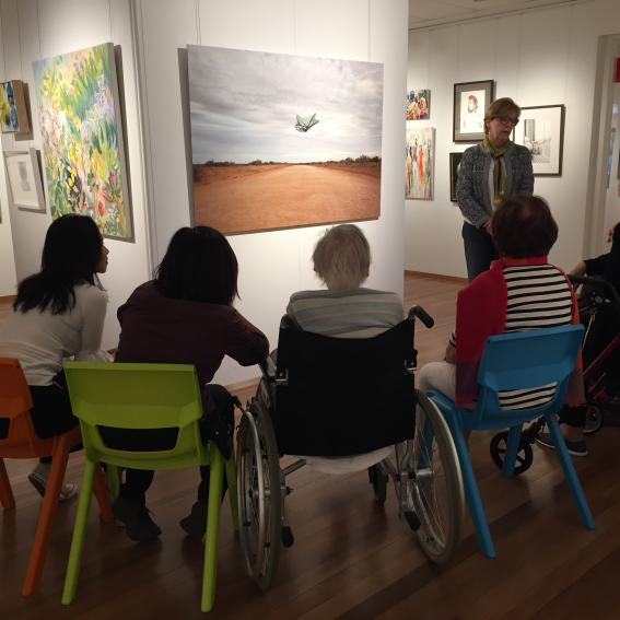 A Picture of Health Tour at Mosman Art Gallery