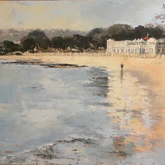 Image: Sue Sharpe, How I Love Balmoral, 2020, oil on canvas, 92 x 61 cm