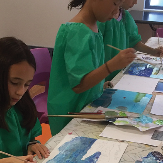 Art Attack workshop at Mosman Art Gallery